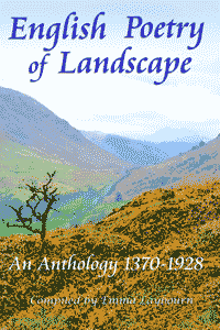 the cover of the free ebook English Poetry of Landscape: an Anthology 1370 - 1928